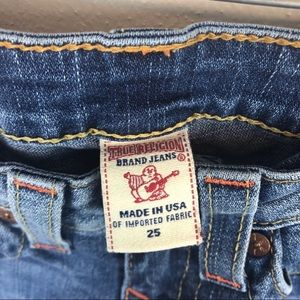 True Religion Jeans - True Religion Lizzy cropped jeans